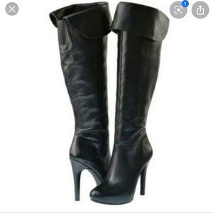 Jessica Simpson Audrey black over the Knee Boots